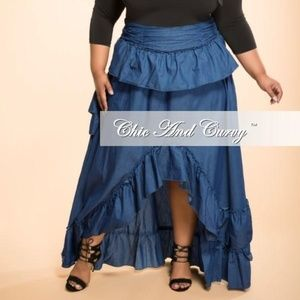 Chic and curvy